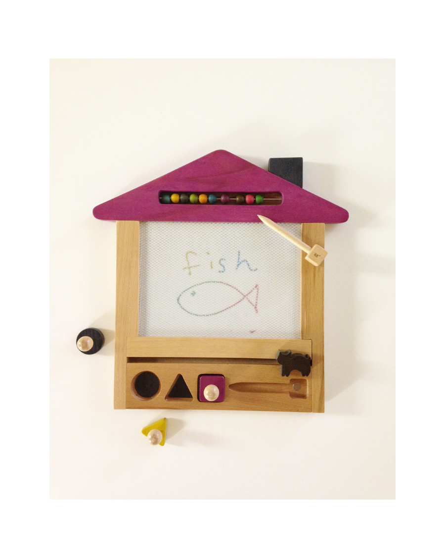 Magic drawing board - Cat house