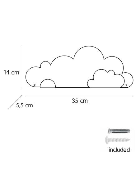 Shelf cloud & light blue cloud stickers
