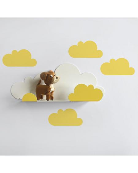 Shelf cloud & yellow cloud stickers