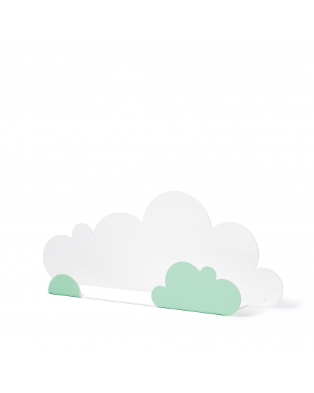 Shelf cloud & mint cloud stickers