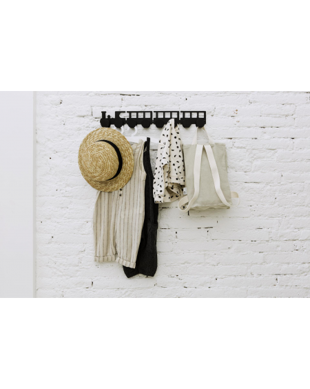 Black train coat rack - kids - tresxics - MyloWonders