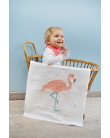 Maxi Swaddle - Flamingo