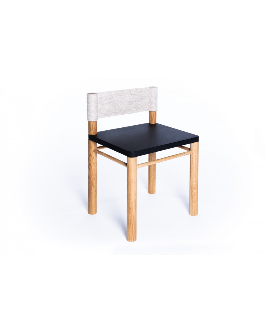 Sensory Kids' Chair - Montessori Inspired Black - Clement | Coclico | MyloWonders
