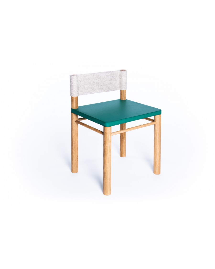 Sensory Kids' Chair - Montessori Inspired Green - Clement | Coclico | MyloWonders