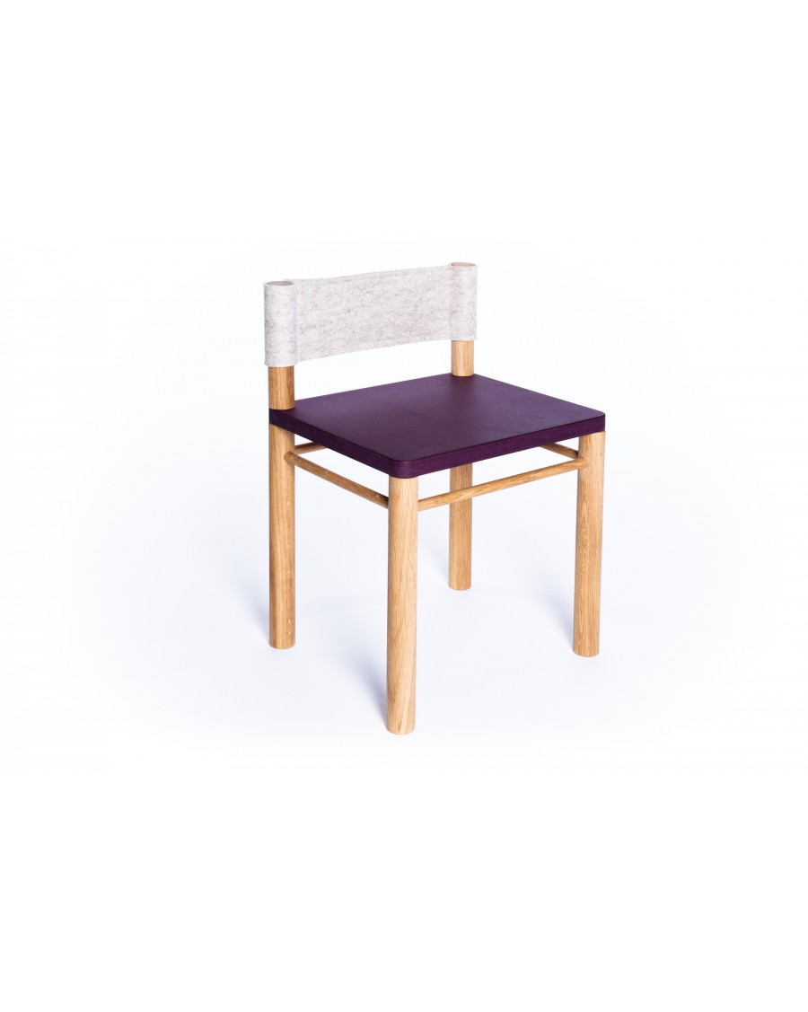 Sensory Kids' Chair - Montessori Inspired Purple - Clement | Coclico | MyloWonders