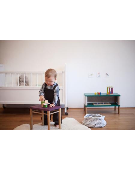 Stool - Montessori Inspired Purple | Coclico | MyloWonders