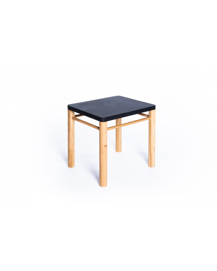 Stool - Montessori Inspired Black | Coclico | MyloWonders