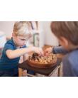 Stool - Montessori Inspired Black | Coclico | MyloWonders