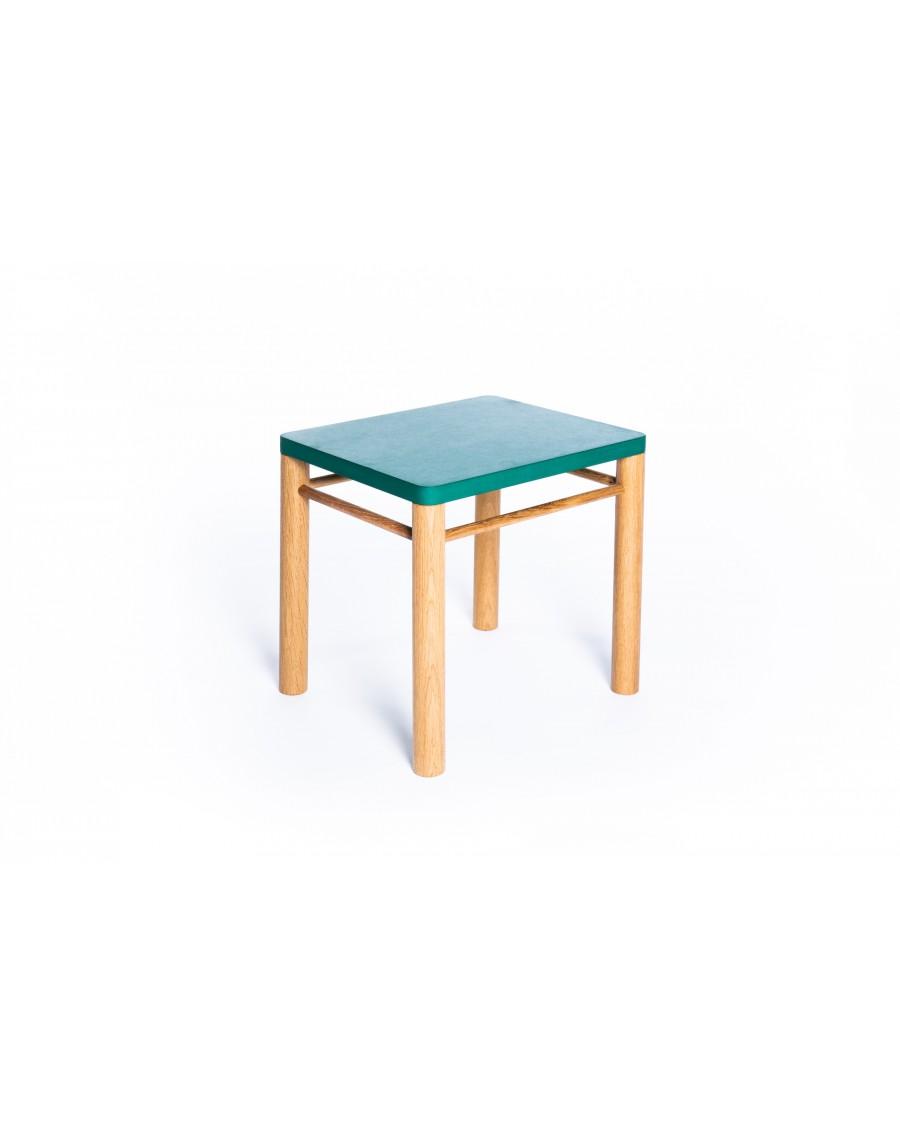 Stool - Montessori Inspired Green | Coclico | MyloWonders