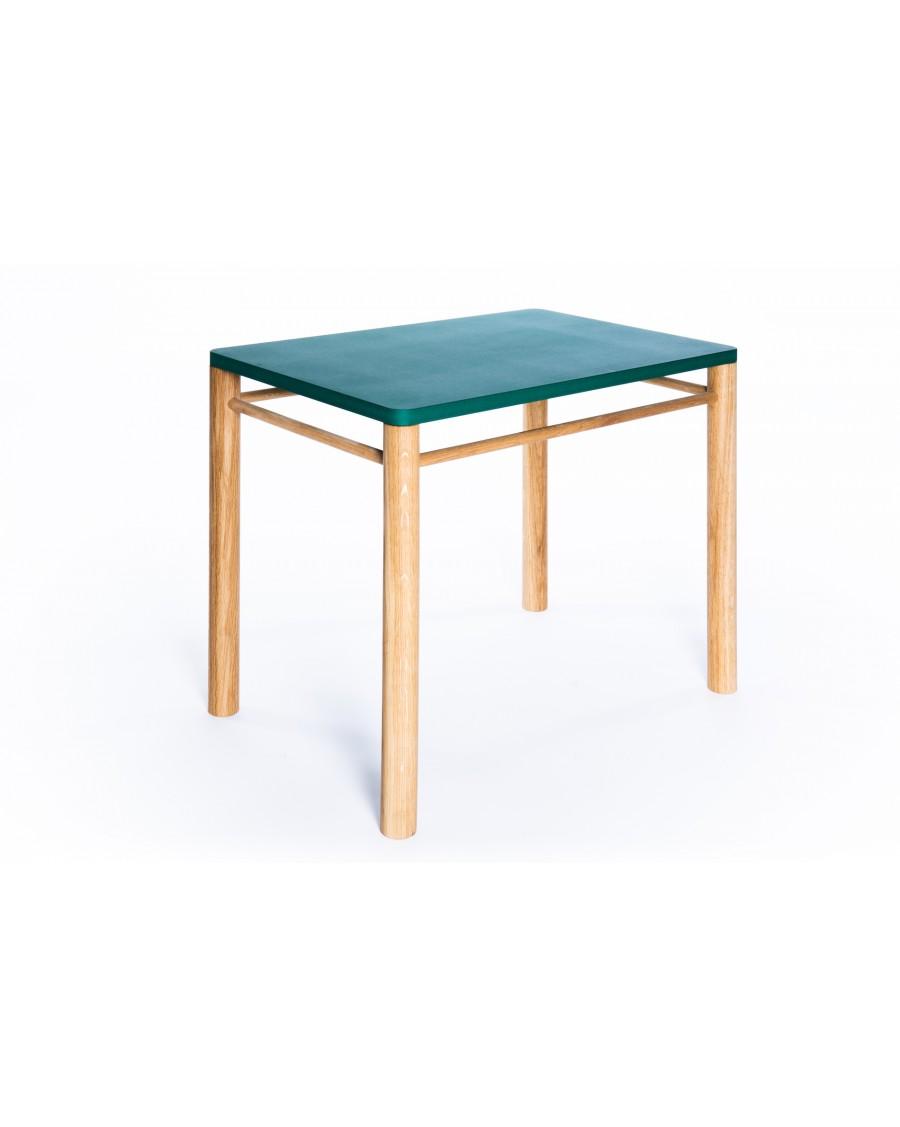 Table enfant, inspiration Montessori - Vert | Coclico | MyloWonders