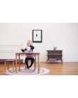 Double bookshelf - Montessori Inspired Black | Coclico | MyloWonders