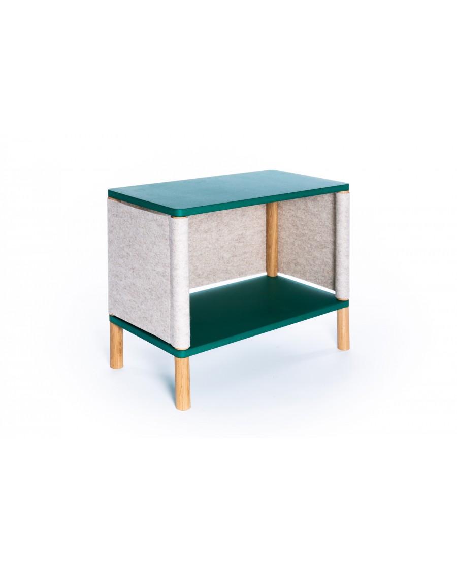 Etagère inspirée par Montessori Vert - Teo| Coclico | MyloWonders