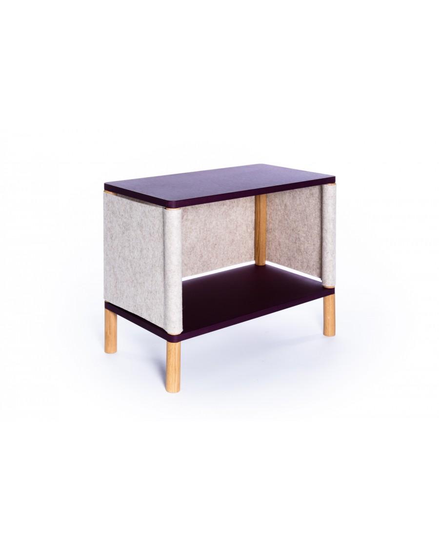 Bookshelf - Montessori Inspired Purple - Teo | Coclico | MyloWonders