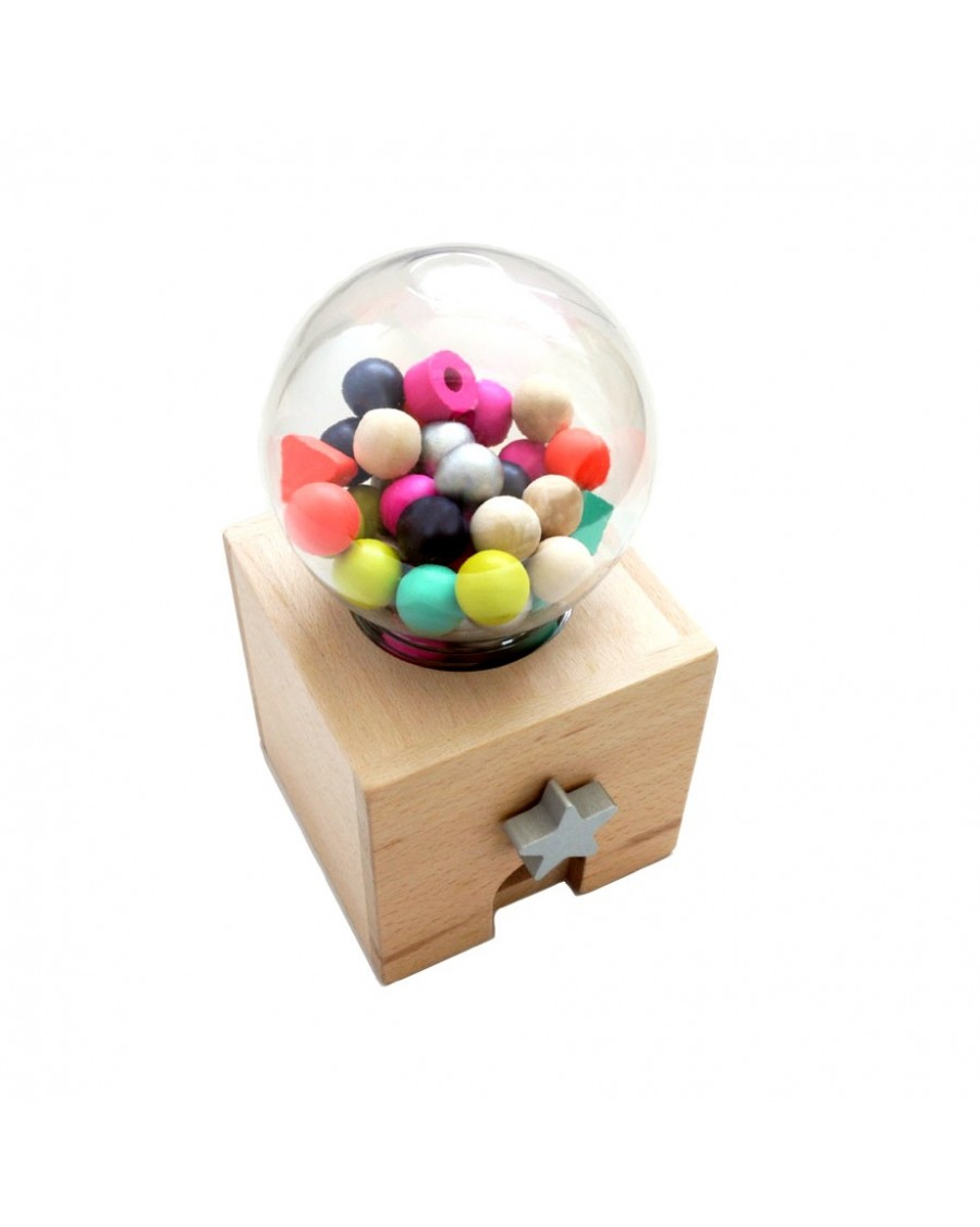 Distributeur de bonbons en bois | Kukkia | Mylowonders