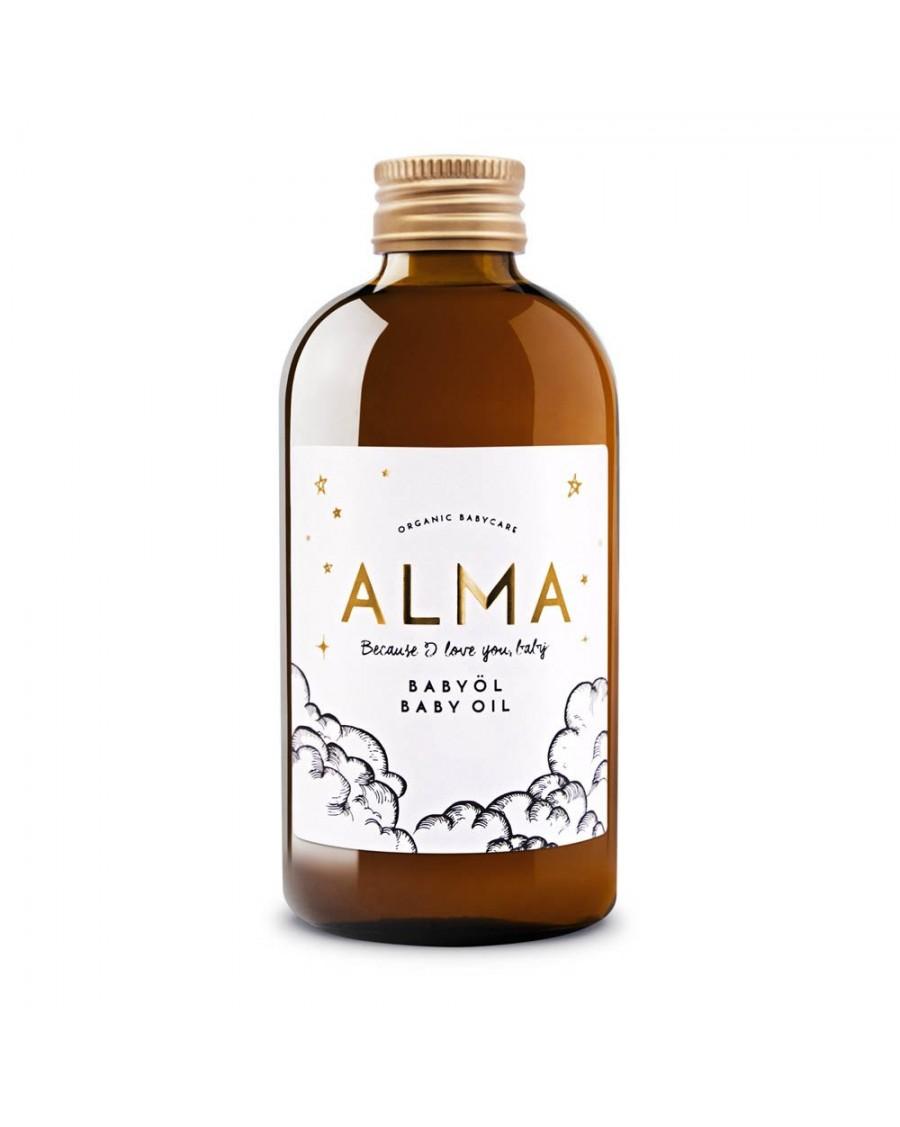Organic Baby Oil 250ml - Alma Babycare - MyloWonders