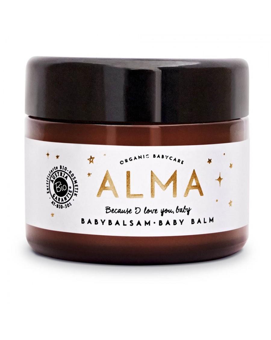 Organic Soothing Baby Balm 50ml - Alma Babycare - MyloWonders