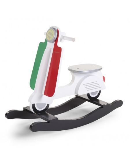 Scooter à bascule drapeau Italien - Mylowonders