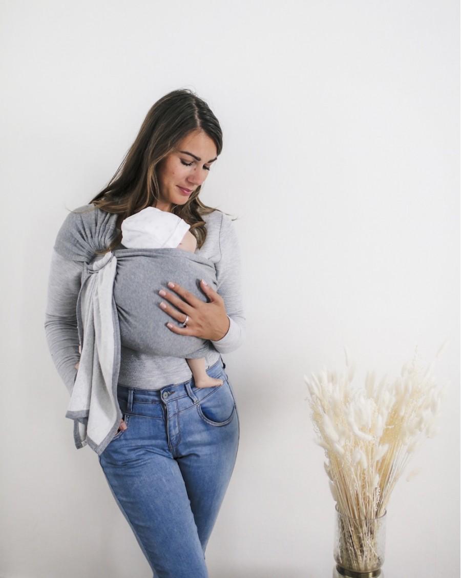 Organic fleece cotton baby carrier Téa | June 22 | MyloWonders