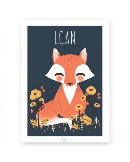 Customisable Poster - Fox | Kanzilue | MyloWonders