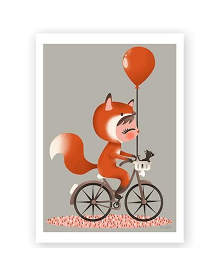 Customisable Poster - Disguised fox   Kanzilue   MyloWonders