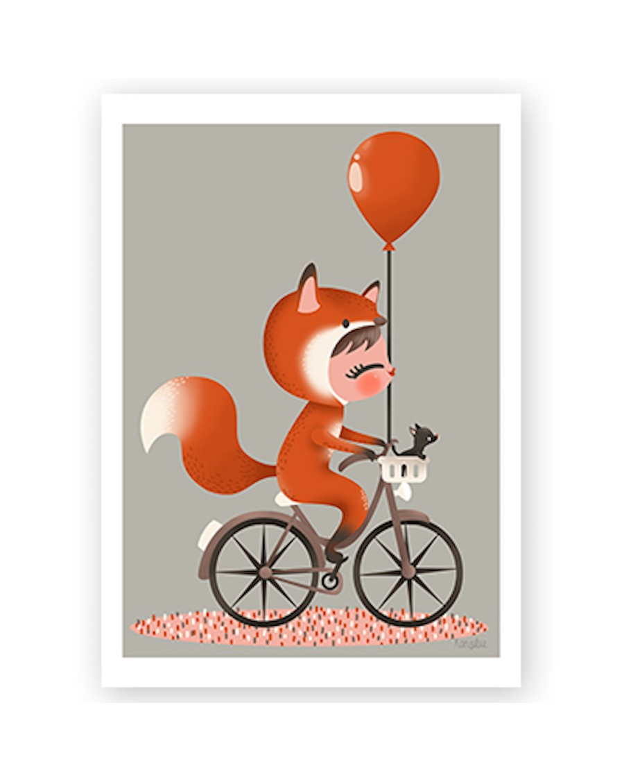 Customisable Poster - Disguised fox | Kanzilue | MyloWonders
