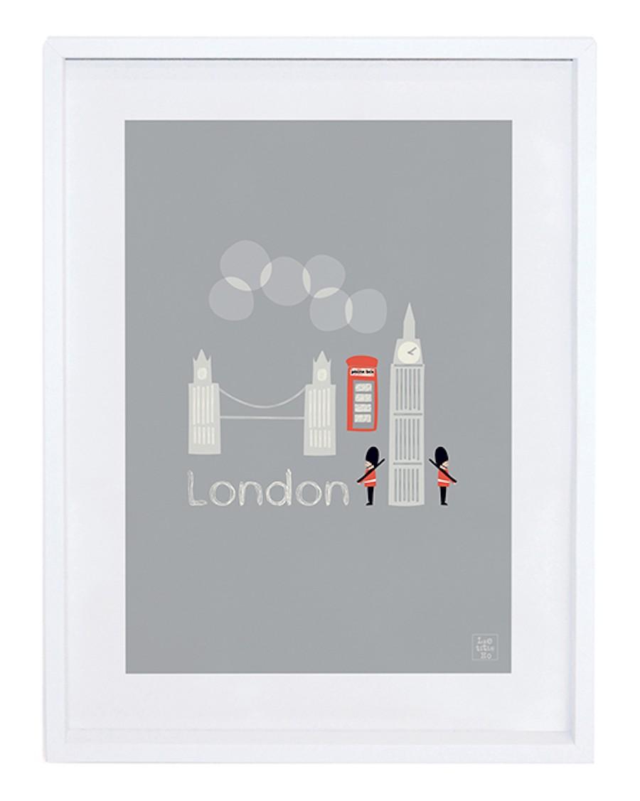 Londres - ville - Affiche décorative - lilipinso - mylowonders