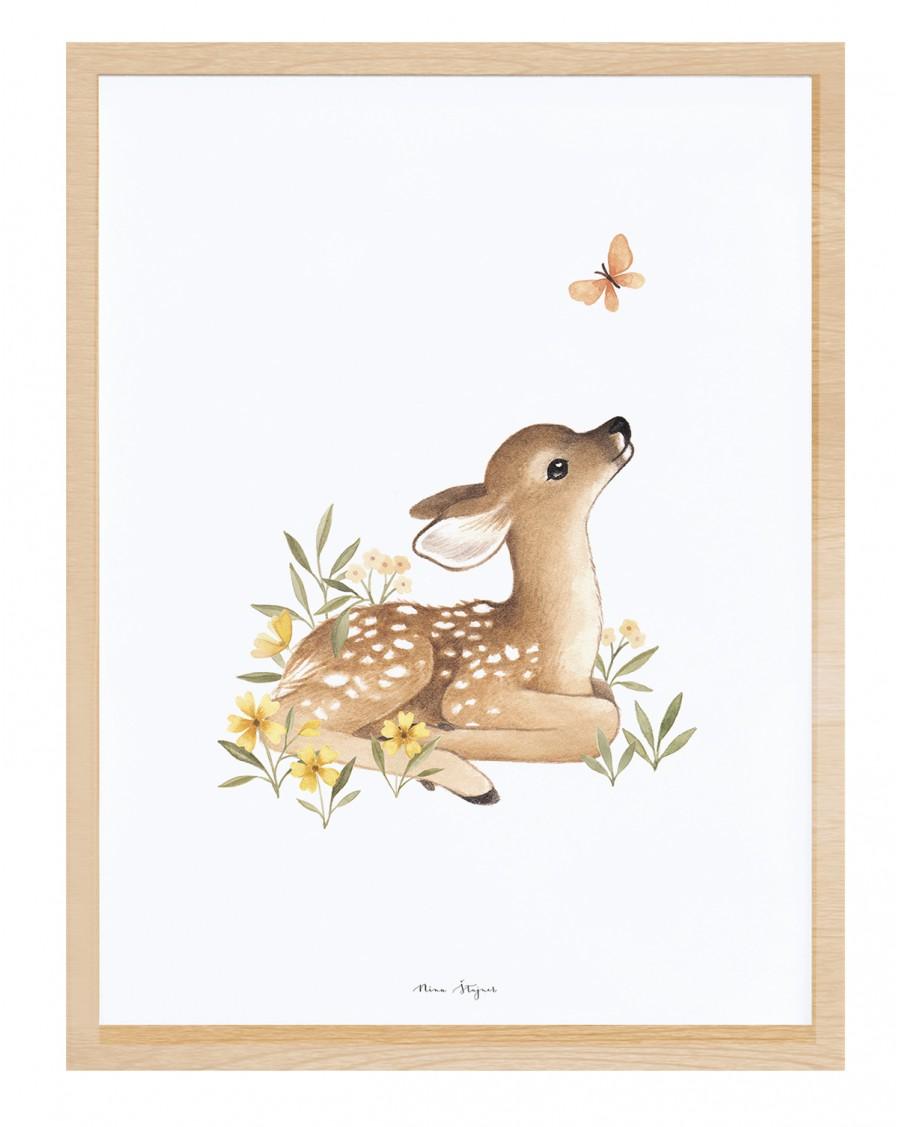 Fawn - Art Print - lilipinso - mylowonders