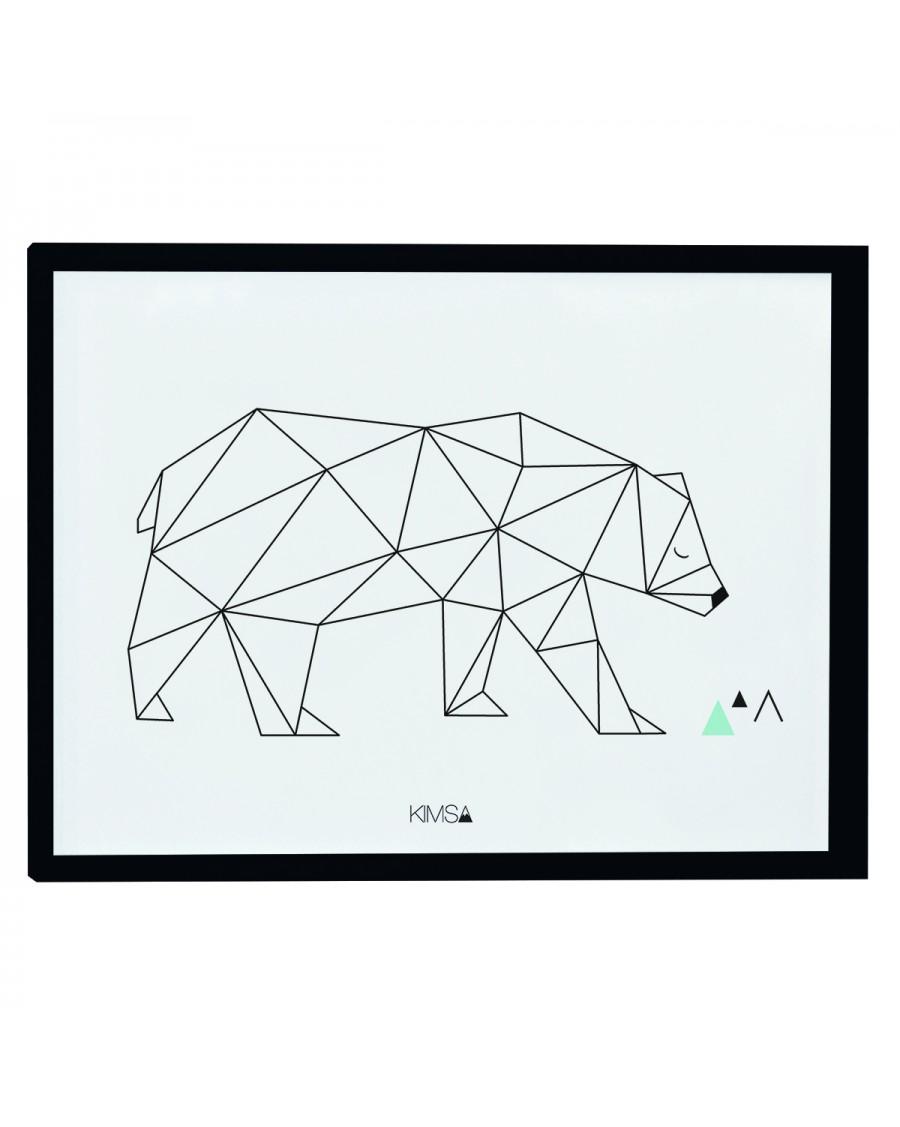 Origami - Bear - Art Print - lilipinso - mylowonders