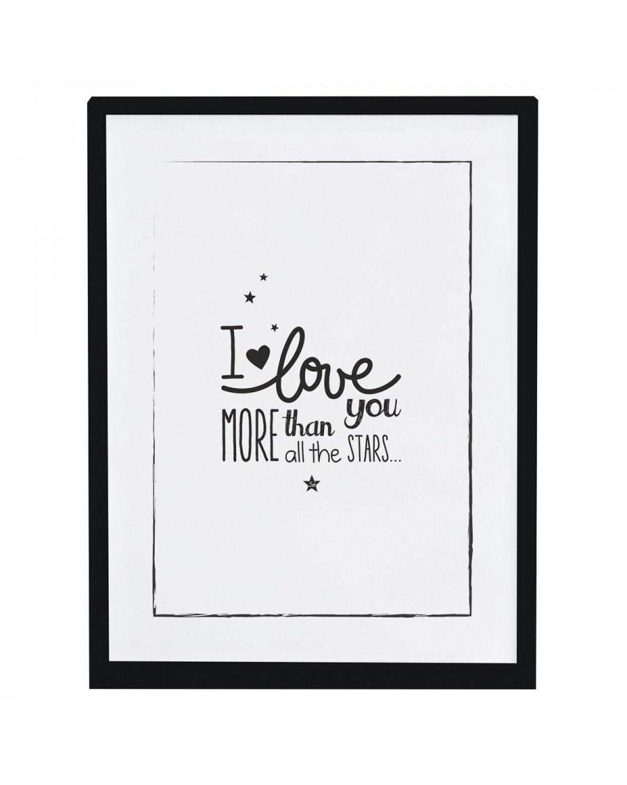 I love you more - Affiche décorative - lilipinso - mylowonders