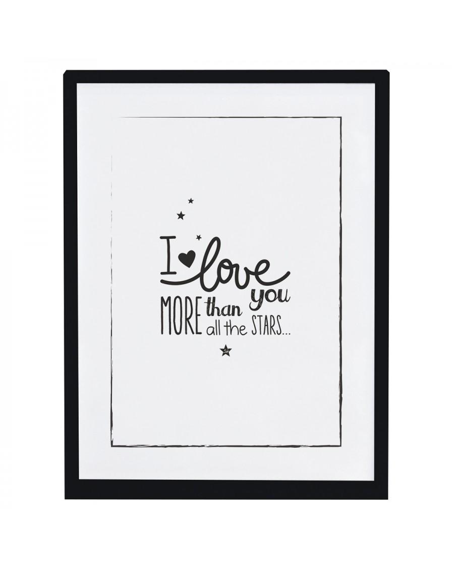 I love you more - Art Print - lilipinso - mylowonders