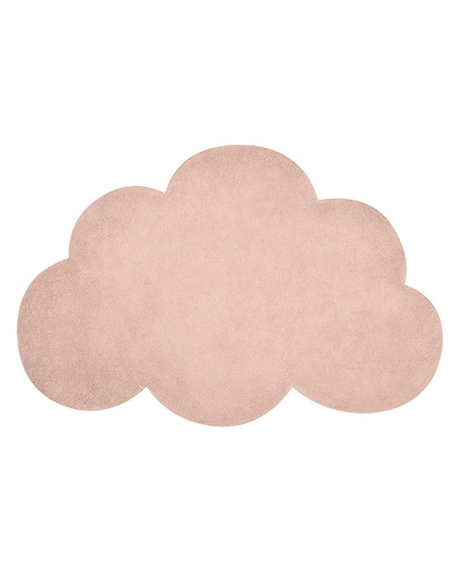 Tapis nuage - abricot - lilipinso - MyloWonders