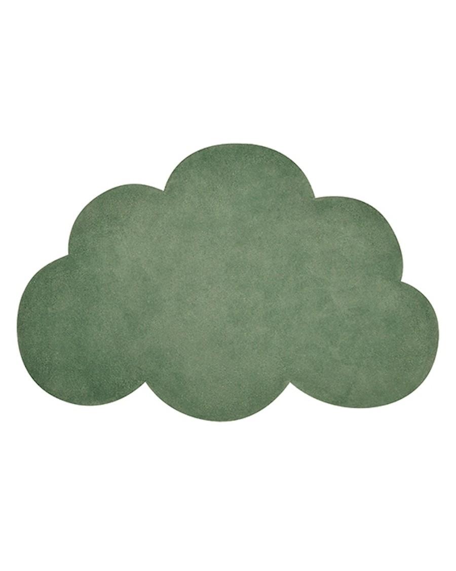 Tapis nuage - vert - lilipinso - MyloWonders