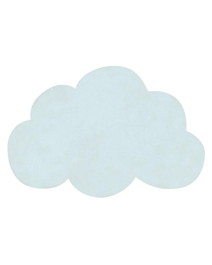 Tapis nuage - bleu turquoise - lilipinso - MyloWonders