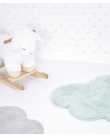 Cloud rug - Turquoise blue - lilipinso - MyloWonders