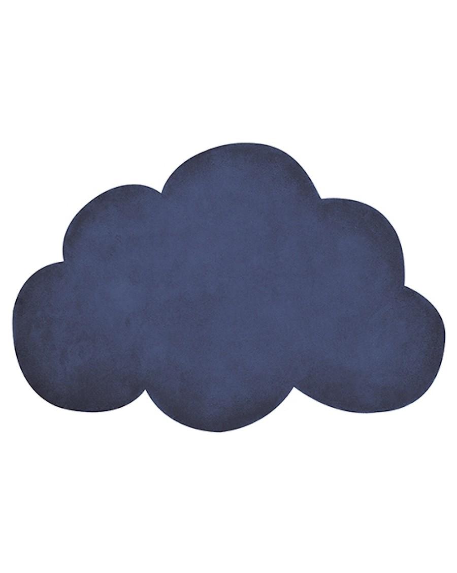 Tapis nuage - bleu - lilipinso - MyloWonders