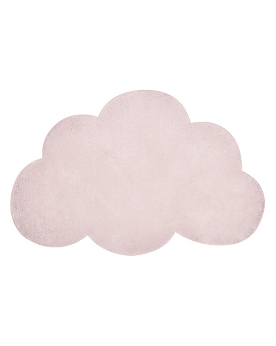 Tapis nuage - rose - lilipinso - MyloWonders