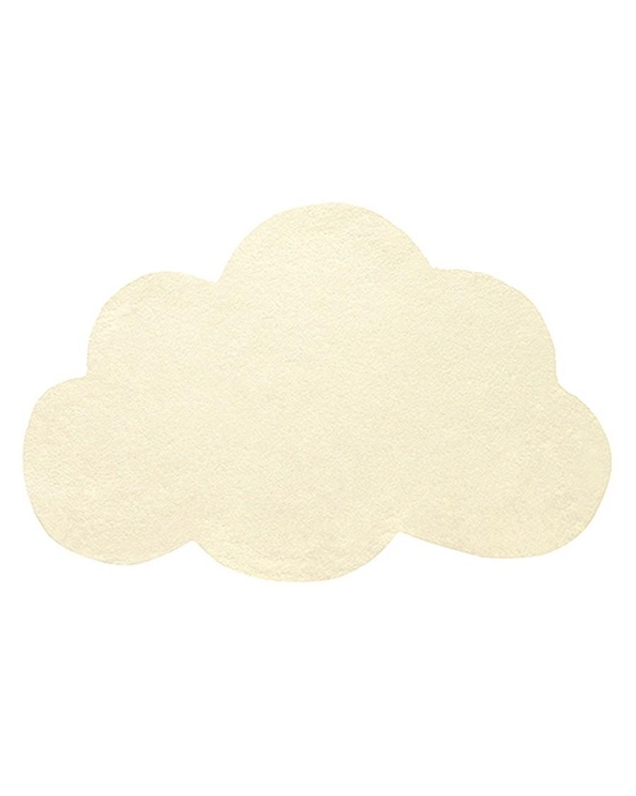 Tapis nuage - jaune pastel - lilipinso - MyloWonders