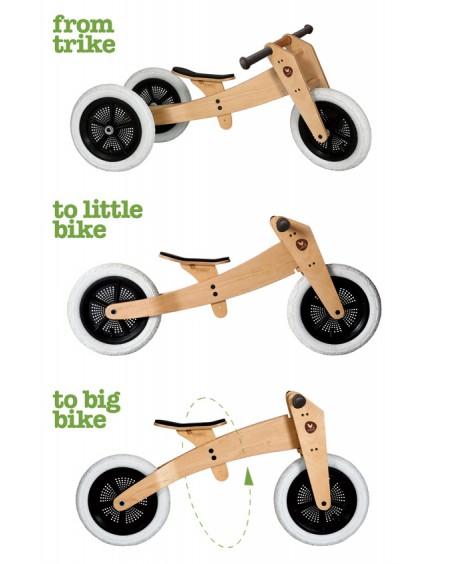 3 in 1 Balance Bike Original - wishbone - mylowonders