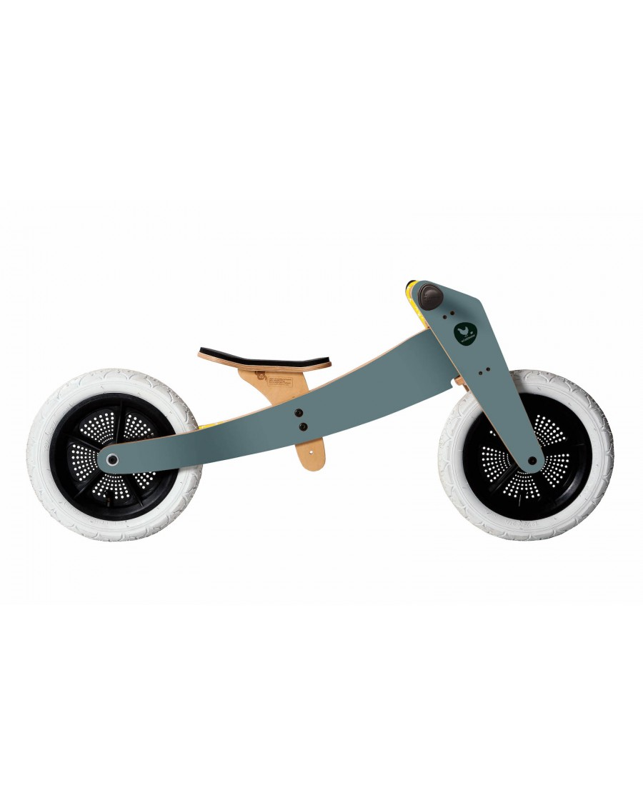 2 in 1 Balance Bike Grey - wishbone - mylowonders