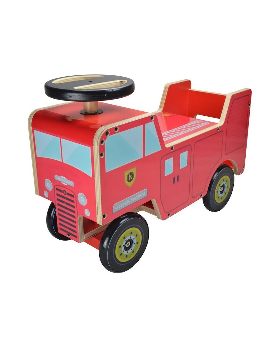 Camion de pompier porteur - kiddimoto - mylowonders