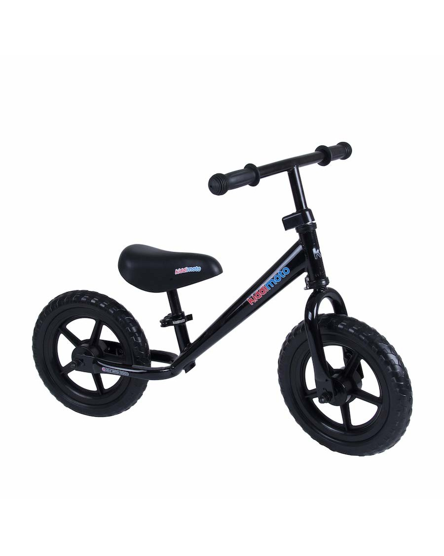 Black Metal Balance Bike - kiddimoto - mylowonders
