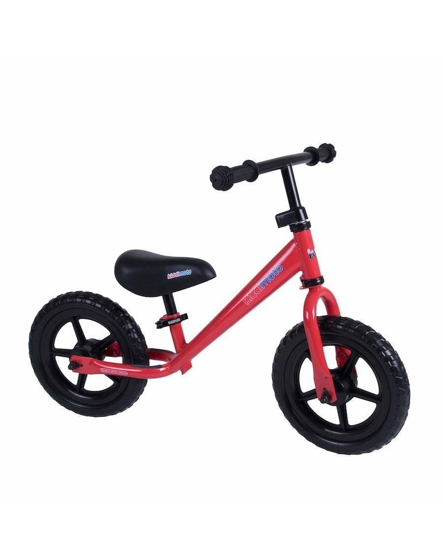 Red Metal Balance Bike - kiddimoto - mylowonders