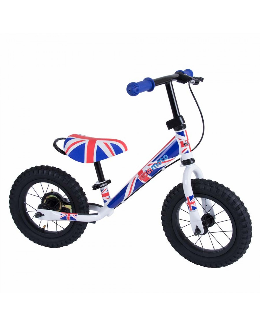 Union Jack Metal Balance Bike Max - kiddimoto - mylowonders