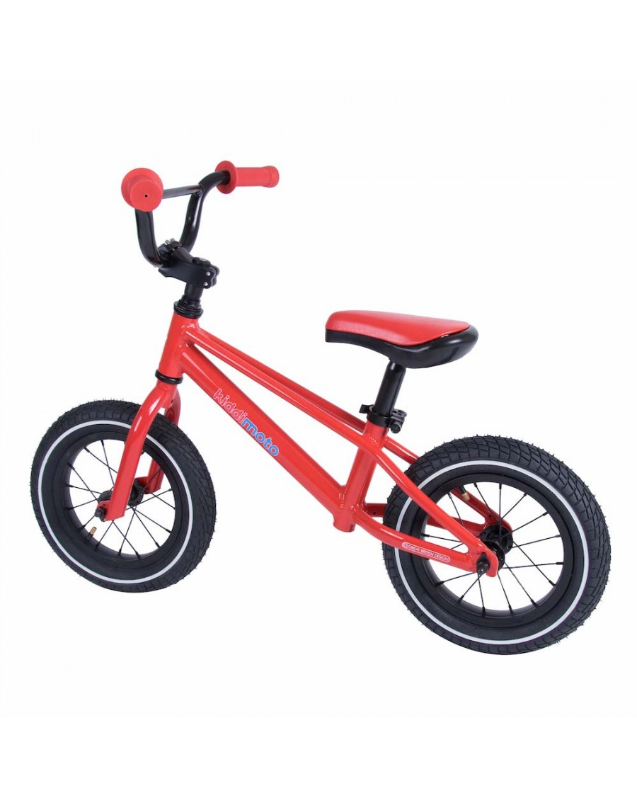 Red BMX Balance Bike - kiddimoto - mylowonders