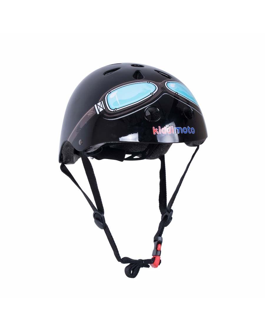 Black Goggle Helmet - kiddimoto - mylowonders