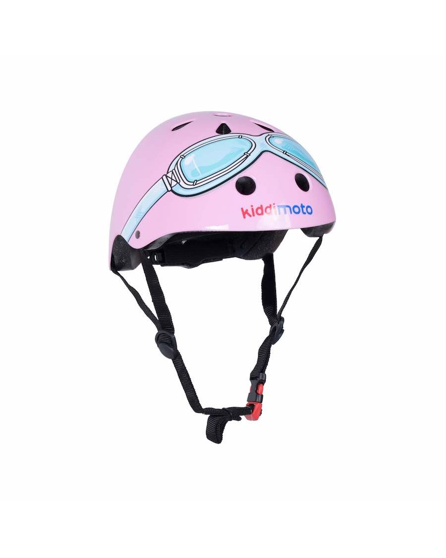 Pink Goggle Helmet - kiddimoto - mylowonders