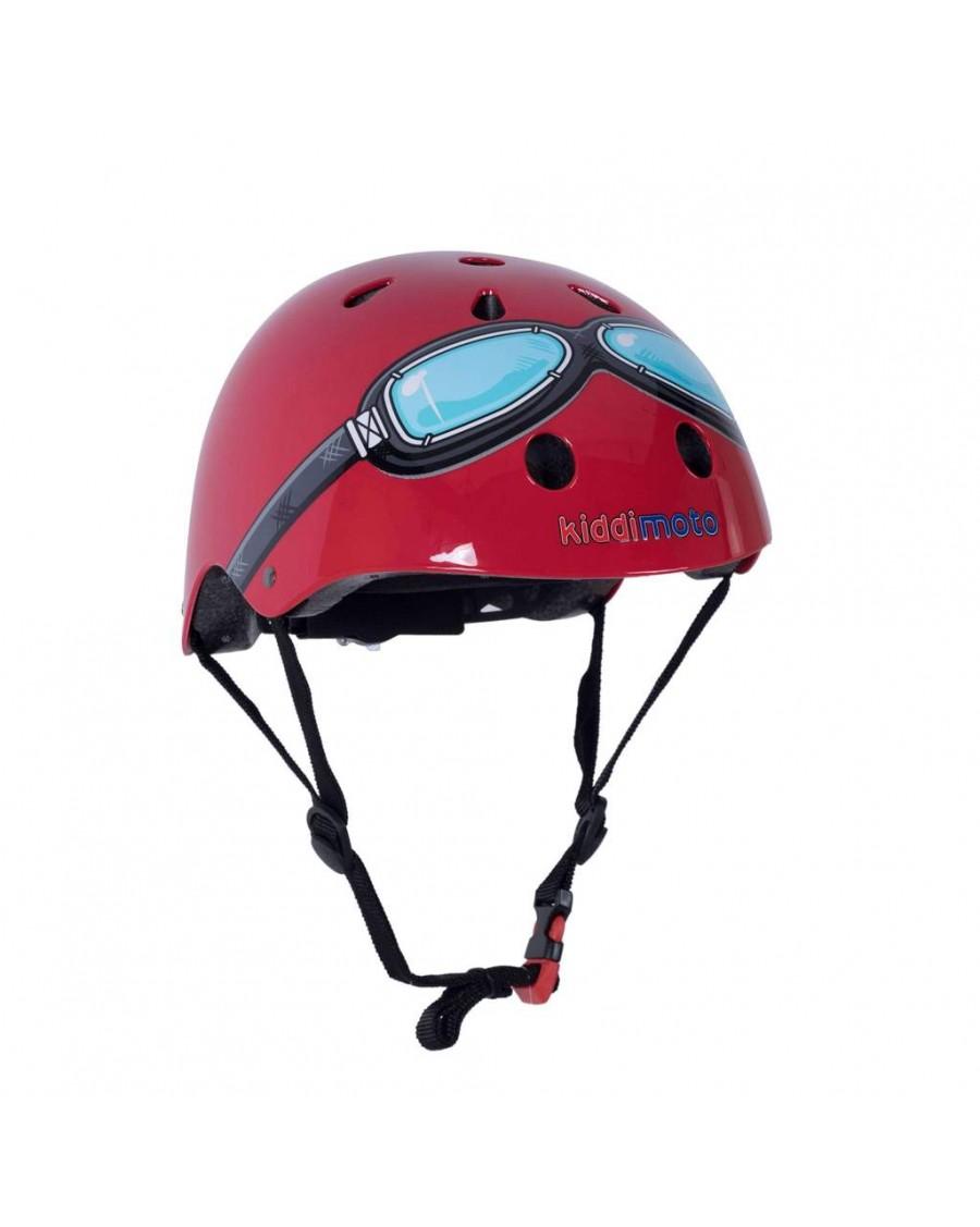 Red Goggle Helmet - kiddimoto - mylowonders