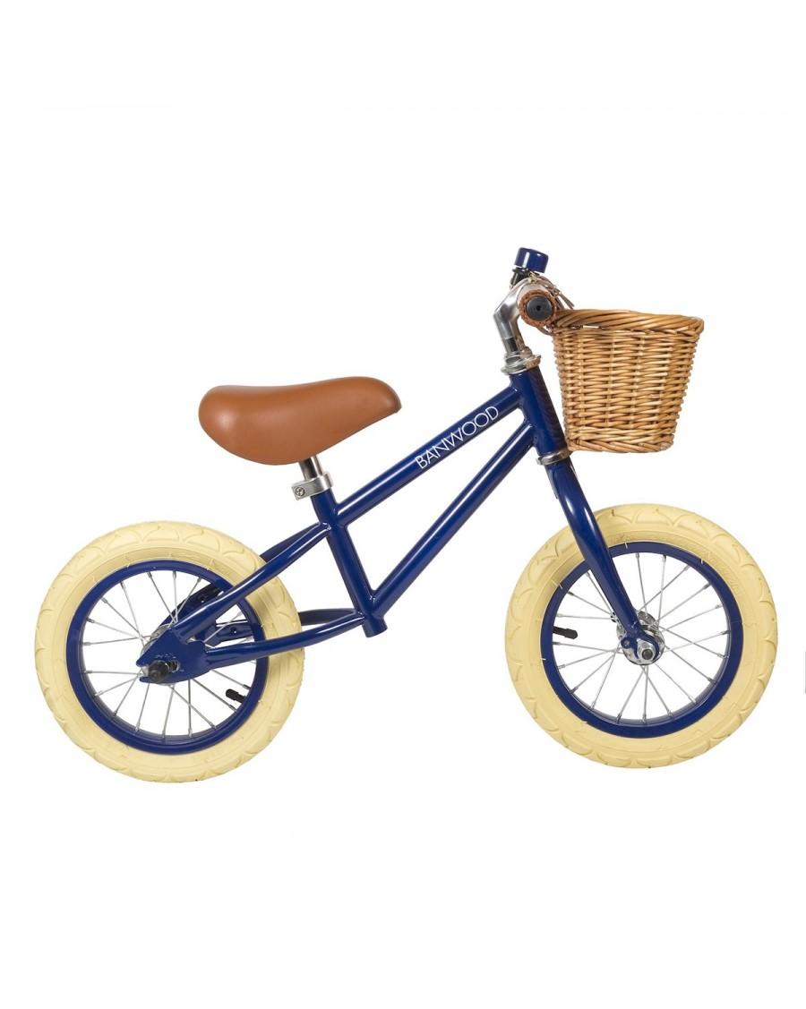 Draisienne First Go - Bleu marine - Vélo Sans Pédales enfant - banwood - mylowonders