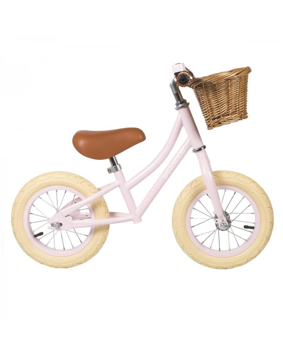 Vélo sans pédales - Draisienne First Go - Rose - banwood - mylowonders