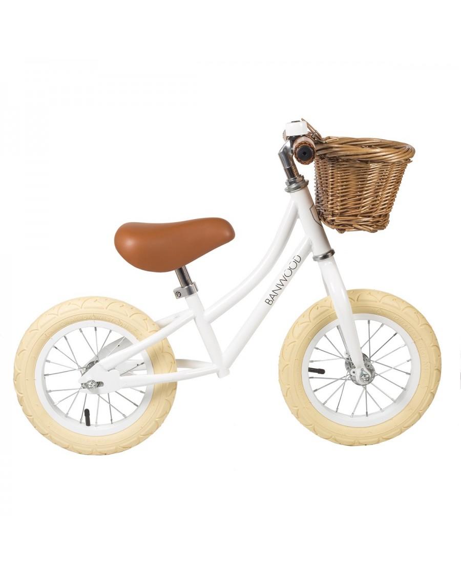Draisienne First Go! - Blanc - Vélo Sans Pédales enfant - banwood - mylowonders